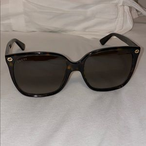 Gucci Square Sunglasses - 57mm